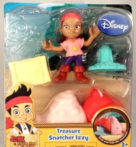 Disney Jake and the Neverland Pirates Treasure Snatcher Izzy Set  New in... - $7.99