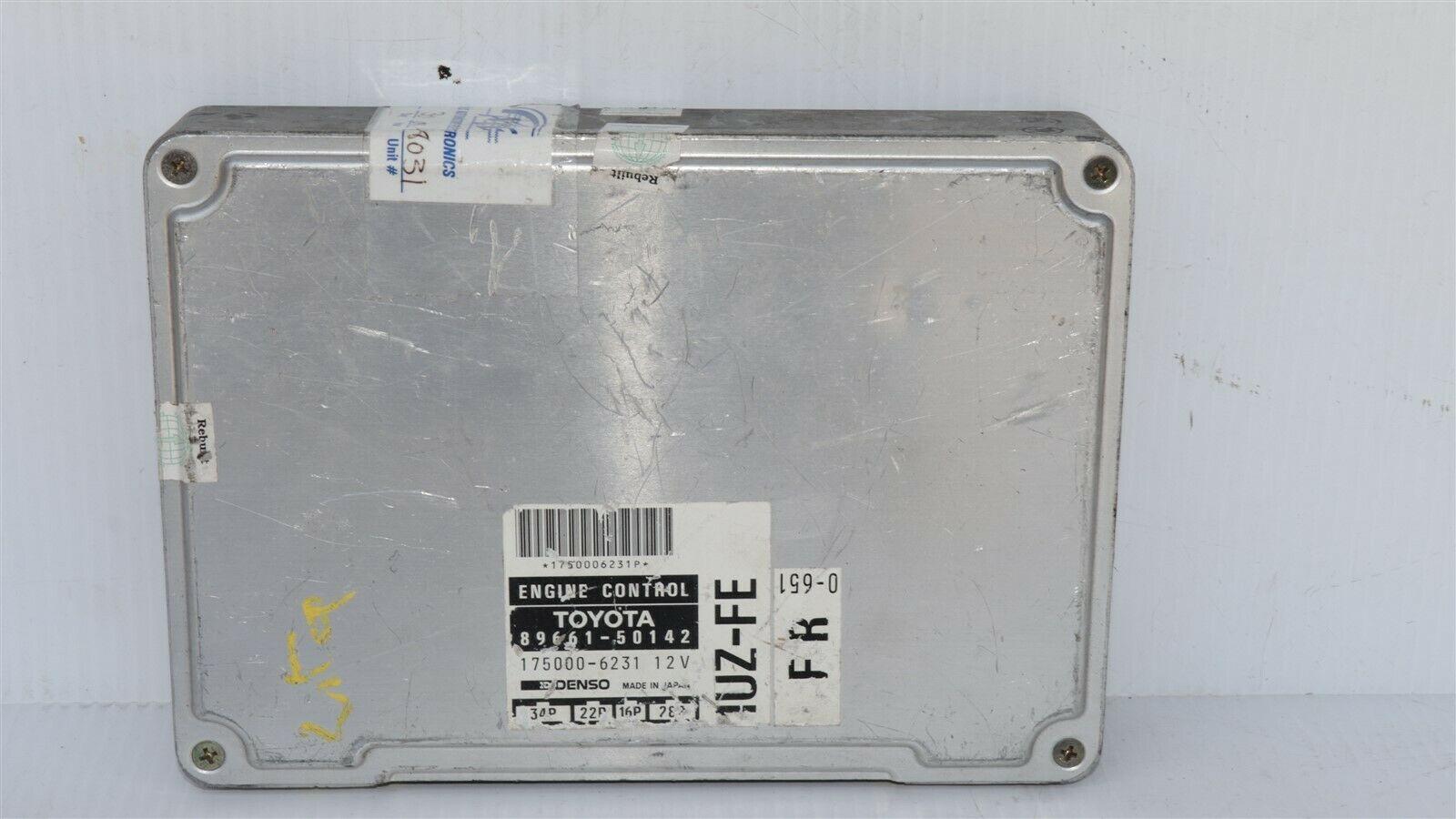 Lexus Toyota 1UZ-FE Engine Control Unit Module ECU ECM PCM 89661-50142