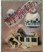Sawdust Symphony By Sandra Malone Decorative Tole Painting Book Vtg 1994... - $10.98