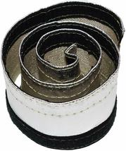 """Heat Shroud Aluminized Sleeving with Hook and Loop Closure 1/2""""x36 (3ft) image 3"""