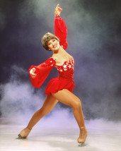 Dorothy Hamill 1984 Ice Skater Pose in red costume Olympic Champion 16x2... - $69.99