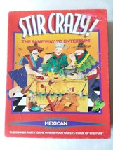 Stir Crazy Mexican The Dinner Party Game 1996 by Decipher Games Complete - $9.64