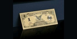 "MAKE offer 1899 ""GOLD""$1 SILVER CERTIFICATE BLACK EAGLE  Rep.*Banknot - $12.08"