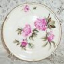 CASTLETON PEONY PINK COFFEE SAUCER SAUCERS ONLY  - $12.86