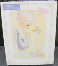 Precious Moments 100 Piece Golden Jigsaw Puzzle 1992 - $12.99