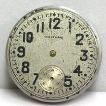 Waltham USA Rare/Collectable 7 Jewels Size 3/0's 1907 Antique Watch Movement.. - $42.75