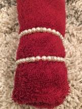 Napier Bride Bridal Pearl & Crystal Bracelet - Set Of 2 - NWOT - $29.99