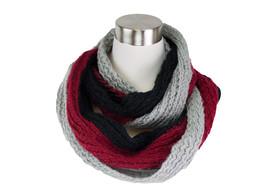 Tri- Tone Knit Infinity Scarf - $6.99