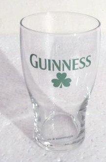 Guinness Stout Ireland SHAMROCK Collectible Pint Glass