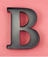 Monogram Wine Cork Holder Metal Wall Art Display Letter B Home Decor Accent - $16.96