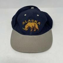 Vintage Alaska Bear Strapback Hat - $4.94