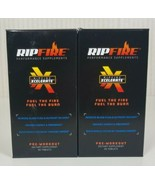 RipFire Xcelerate Pre-Workout Dietary Supplement (Lot Of Two) - 180 Tablets - $16.82