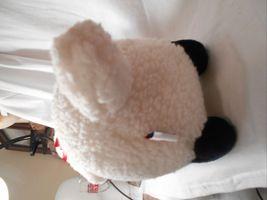 "Mary Meyer Plush Fluffy Lamb Sheep WHite & Black 14"" Lgth 8.25"" tall CUTE image 5"