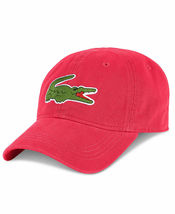 Lacoste Men's Classic Gabardine Premium Cotton Big Croc Logo Adjustable Hat Cap image 14