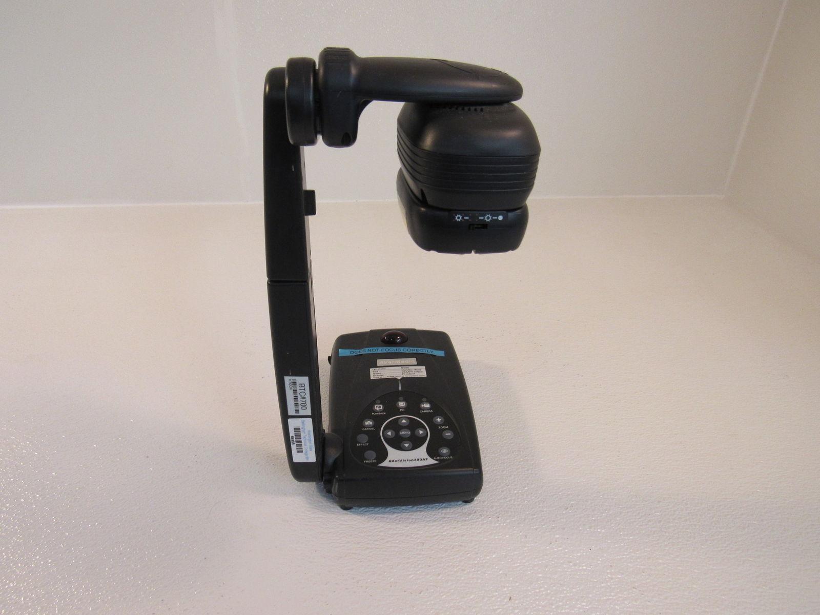 AverMedia Document Camera AverVision 3.2MP Black 300AF