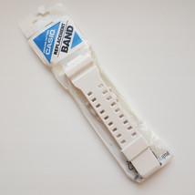 Watch Band 16mm Rubber Strap Casio GW-8900TR-7 GA-100B-7A GA-110BC-7A white - $44.60