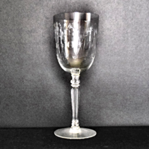 Fostoria Crystal Water Goblet in the Christiana pattern - $8.00