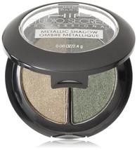 2PK L'Oreal Paris HiP Studio Secrets Professional Metallic Eye Shadow Du... - $12.08