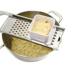 Stainless Steel Spaetzle Maker Egg German Dumpling Noodle Maker Kitchen ... - ₨920.37 INR