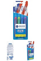 Oral-B 40 Soft Bristles Indicator Contour Clean Toothbrush, 4 Count - $6.13