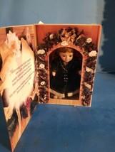 Marie Osmond Fine Porcelain Greeting Card Doll Knickerbocker Christmas 1996 - $23.36