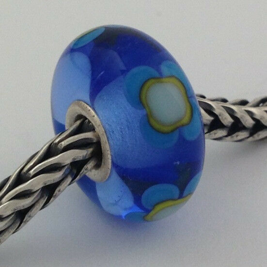 Primary image for Authentic Trollbeads Ooak Murano Glass Unique Bead Charm #233, 14mm Diameter New