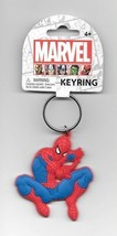 Marvel Comics Spider-Man Shooting Web Soft Touch PVC Key Ring Keychain U... - $5.90
