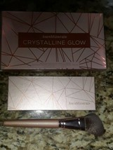 New Bareminerals 0.27Oz Crystalline Glow Bronzer & Highlighter Palette + Brush - $19.95