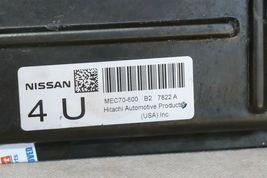 Nissan 4.0 ECU ECM PCM Engine Control Module Computer MEC70-600 B2 image 3