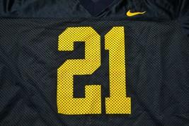 VTG Nike Team NCAA Michigan Wolverines (Desmond Howard) #21 Jersey XL Ma... - $42.06