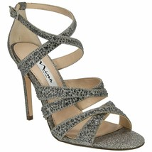 NEW NINA  STONE GLITTER PUMPS SANDALS SIZE 9.5 M $129 - $32.13