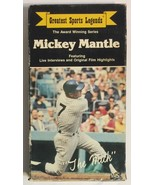 Greatest Sports Legends Mickey Mantle VHS 1985 - $4.95