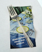 Holmes and Edwards Fork Youth Pattern Inlaid Silver Plate Salad Fork  6 ... - $6.88
