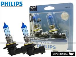 NEW! 9006 PHILIPS Crystal Vision Ultra Xenon HID LOOK Headlight Bulbs 90... - $38.99