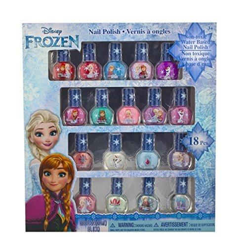 Townley Girl Disney Princess Non Toxic Peel Off Nail: Townley Girl Frozen Non-Toxic 18 Piece Peel Off Nail