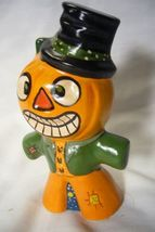 Vaillancourt Folk Art, Pedro the Pumpkin Man  Signed by Judi Vaillancourt image 3