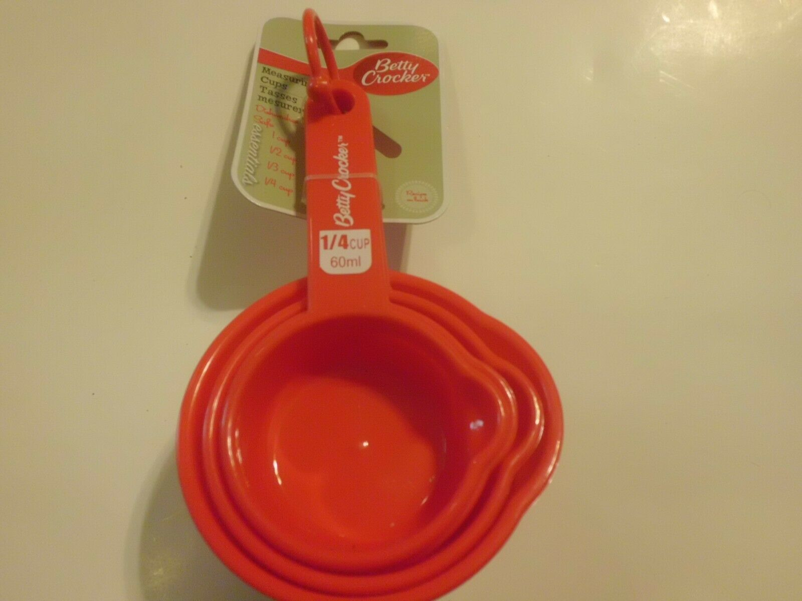 Primary image for Betty Crocker Measuring Cups 4 Peice Set New In Original Package