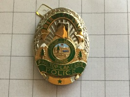 Lieutenant PineTop-Lakeside Arizona Police Badge - $325.00