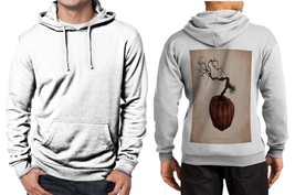 Botanical Pumpkin Limited Classic Hoodie Men White - $39.99