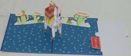Lovepop LP2598 Happy Birthday Llama Pop Up Card White Envelope Cellophane wrap image 3