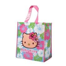 Sanrio Shopping Bag Hello Kitty Hawaii Reusable Hula Pink Plastic Tote -NWT - $15.00