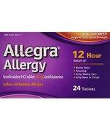 Allegra 12 Hour Caplets, 24 ct - $12.86