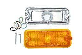 GM 73 74 75 76 77 78 79 80 GMC CHEVROLET CHEVY TRUCK C10 PARK LIGHT LENS HOUSING image 8