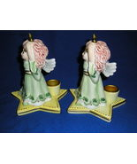A Set Of Two Fitz And Floyd Essentials Moonbeams Candle Holders - $29.99