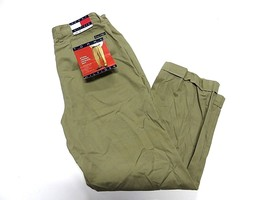 New With Tags Tommy Hilfiger Tan Casual Pants Adult Men's Size 34x30 - $59.35