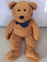 TY Fuzz Teddy Bear Beanie Buddy 1999 Stuffed plush - $6.23