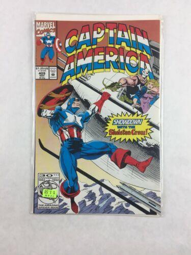 Captain America Volume 1 #409 November 1992 Comic Book Marvel Comics