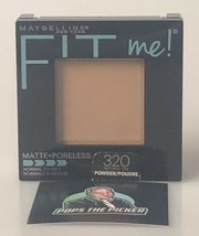 Maybelline Fit Me! Pressed Powder Matte + Poreless 320 Natural Tan - $5.35