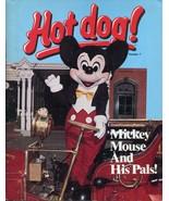 1981 Scholastic Children's Hot Dog Magazine #7 Mickey Mouse - $9.89