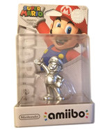 Super Mario Rare Silver Mario Nintendo Amiibo * 3DS / Wii U / Switch Acc... - $29.88